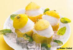 Geeiste Zitronen