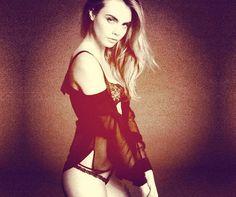 Cara Delevingne, new face of La Perla - look.co.uk