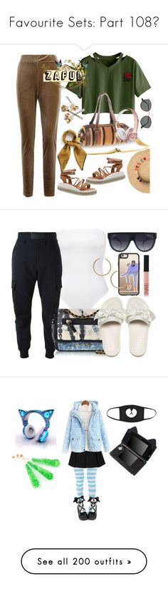 """""""Favourite Sets: Part 108❣"""" by moon-and-starss ❤ liked on Polyvore featuring Ray-Ban, Mulberry, Alexander McQueen, Jérôme Dreyfuss, Casetify, NARS Cosmetics, H&M, STELLA McCARTNEY, Matthew Williamson and Needle & Thread"""