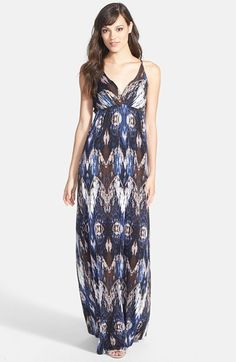 FELICITY & COCO Print Maxi Dress (Nordstrom Exclusive) available at #Nordstrom