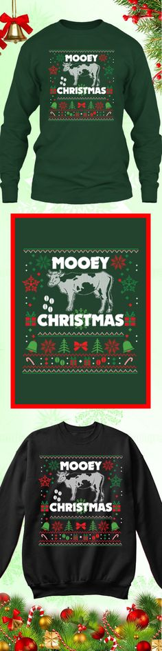 Need a last minute Christmas Gift? Get this limited edition MOOEY Fun Farmer Ugly Christmas Sweater while supplies last! Buy 2 or more, save on shipping!