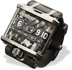 Devon Tread 1 Watch. I don't even wear a watch, but I'd wear this badass thing.