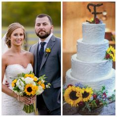 Tyler Farr and Hannah Freeman Wedding Cake
