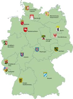 Germany comprises sixteen states that are collectively referred to as Länder