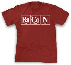 Ah the element of surprise shirt funny tshirt science shirt periodic table science tee nerd geek Cool Tees, Cool T Shirts, Funny Shirts, Bacon Shirt, Science Shirts, Everything Funny, Funny Outfits, I Love To Laugh, Nerd Geek