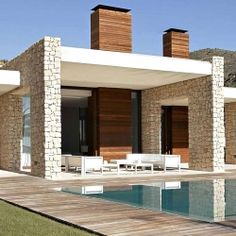 House in Monasterios by Ramon Esteve.