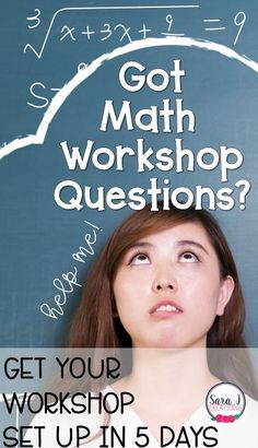 Tips and Tricks for setting up math workshop in your elementary classroom plus a FREE 5 day email course to help you set up math workshop in your classroom. Teaching Place Values, Teaching Math, Kindergarten Math, Teaching Ideas, Preschool, Online Math Courses, Math Websites, Math Board Games, 3rd Grade Math