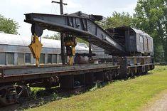 Pile Driver, Bucyrus Erie, Locomotive Engine, Klamath Falls, Abandoned Train, Railway Museum, Old Trains, Train Pictures, New York Central