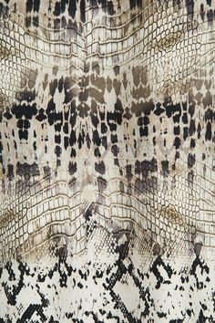 Giambattista Valli Reptile Print Dress