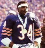 Walter Payton... Chicago Bears