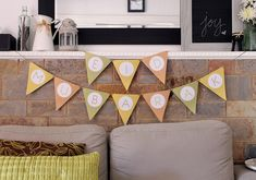 Eid Celebration: Tips To Decorate Your Home Eid Bunting, Eid Banner, Eid Mubarak Banner, Eid Activities, Eid Holiday, Eid Party, Flag Garland, Welcome Poster, Decoration