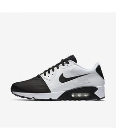 6ee0af6f914 Nike Air Max 90 Mens Ultra 2 Se Black White Shoes Outlet Sale Uk