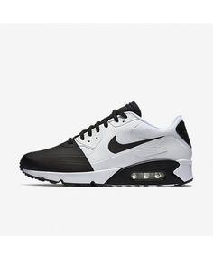 new concept d15a9 cc2ff Nike Air Max 90 Mens Ultra 2 Se Black White Shoes Outlet Sale Uk, Mens
