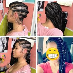 63 stunning examples of brown ombre hair - Hairstyles Trends Black Girl Braids, Braids For Black Hair, Girls Braids, Braided Hairstyles For Black Women, Weave Hairstyles, Girl Hairstyles, Quick Braids, Braids With Weave, Box Braids
