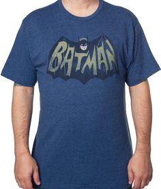 Batman Television Series Logo T-Shirt: Batman Mens T-Shirt