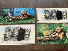 jersey stamps, Pets, Thermatics  | eBay German Stamps, Pets, Painting, Ebay, Painting Art, Paintings, Painted Canvas, Drawings, Animals And Pets