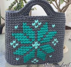 """New Cheap Bags. The location where building and construction meets style, beaded crochet is the act of using beads to decorate crocheted products. """"Crochet"""" is derived fro Bag Crochet, Crochet Handbags, Crochet Purses, Crochet Crafts, Tapestry Bag, Tapestry Crochet, Yarn Bag, Boho Bags, Knitted Bags"""