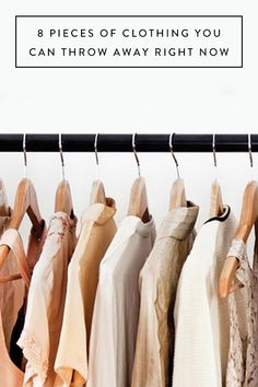 8 Pieces of Clothing You Can Throw Away Right Now via @PureWow