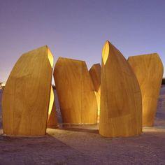 Winnipeg Skating Shelters - Manitoba, Canada     A project by: Patkau Architects     Architecture