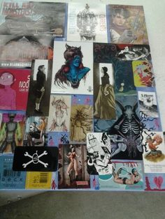 All business cards I colected from comic con :3