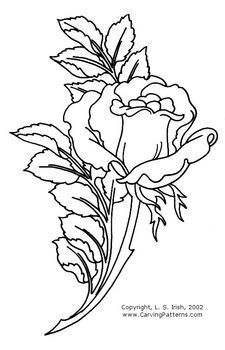 Wood Carving Rose Pattern - Bing Images