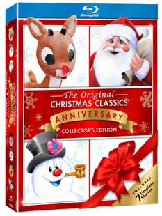 Original Christmas Classics Anniversary Collector's Edition is now available on Blu–ray and DVD.  SANTA CLAUS & FROSTY THE SNOWMAN CELEBRATE 45 YEARS