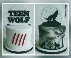 Teen Wolf birthday cake #teenwolfbirthdaycake