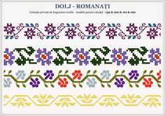 Romanian cross stitch patterns