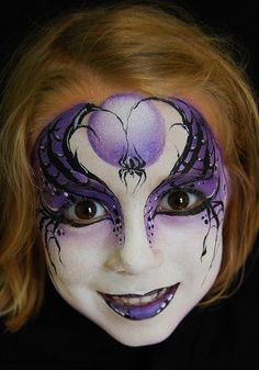 Make-up tips Carnival: 40 ideas for face painting - make-up tips carnival witch make-up Informations About Schminktipps Karneval: 40 Ideen für Kindersc - Face Painting Designs, Paint Designs, Body Painting, The Face, Face And Body, Witch Face Paint, Vampire Face Paint, Halloween Make Up, Halloween Face Makeup