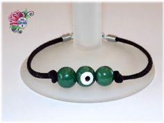 Bracelet Mauvais Oeil Protection Bonheur par ValniDesignsJewelry
