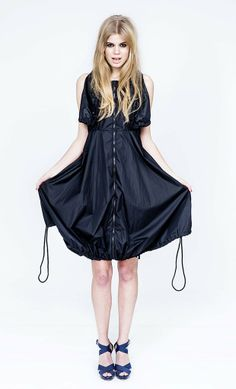 Takaokami Rain Dress Rainwear has never looked this good.