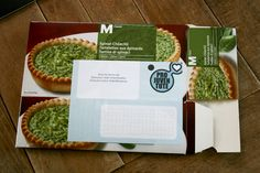 Genius. Use old boxes to send letters and parcels. Why did we not think of this before?