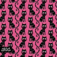 Nastja Holtfreter black cats
