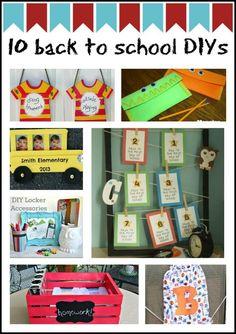 10 Back to School DIYs