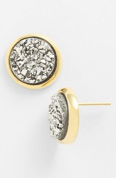 Marcia Moran druzy sparkle studs - Still available at shop-marciamoran.com!
