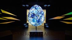 Stunning projection-mapped Fabergé Egg takes window displays to a new level   Video   Creative Bloq