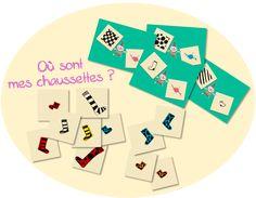 La maternelle de ToT: BILLES DE CLOWN - OU SONT MES CHAUSSETTES ?