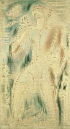 """""""Angel""""  by Konstantinos Parthenis (1878 - 1967)"""