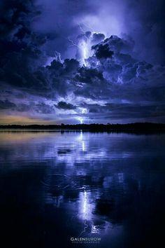 blue lightning...