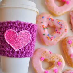 It's Sweet Saturday at my house! Coffee and heart shaped sprinkle donuts anyone?! These are a few of my favorite things (you know you want to sing along)....Just because I can't eat them right now doesn't stop me from making them-and my daughter used her mad icing and sprinkle skills! 😂😂 happy weekending y'all!