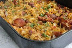 Varza la cuptor, (use pork butt) Cabbage Recipes, Cabbage Meals, Romanian Food, Romanian Recipes, I Want To Eat, Fried Rice, Paella, Broccoli, Pork