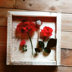 Wooden tray. Rustic decoration made of pallets ✌😉