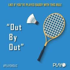 #baddy4life #badminton #streetrules #sports4life #Playoholic #instasport #instabadminton Badminton, Rackets, Tennis Racket, Sports, Hs Sports, Sport, Exercise