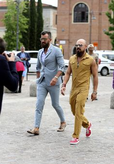 men's street style - pitti uomo - florence italy