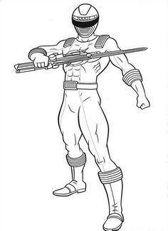 power rangers coloring pages free large images