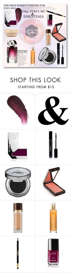 """""""Fall Perfume and Beauty Essentials"""" by rareworthy ❤ liked on Polyvore featuring beauty, Kjaer Weis, Christian Dior, Urban Decay, Jouer, Tom Ford, Michael Kors, Sisley Paris, Chanel and Eve Lom"""