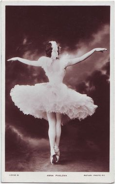 Vintage Photography: Anna Pavlova