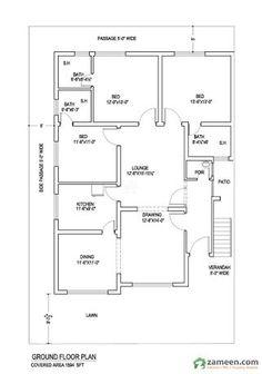 6 Marla house plan,30\' × 42\' Modern House Plan | House plan ...