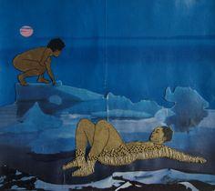 purnsz:  i wish to melt (ice blue), Pamela Phatsimo Sunstrum, 2009