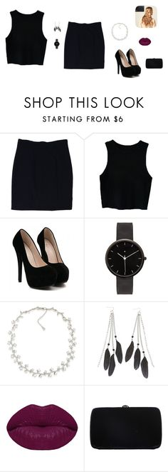 """Untitled #49"" by sara-tadic-1 ❤ liked on Polyvore featuring Alice + Olivia, I Love Ugly, Carolee, Charlotte Russe, Winky Lux, Sergio Rossi and Hershesons"